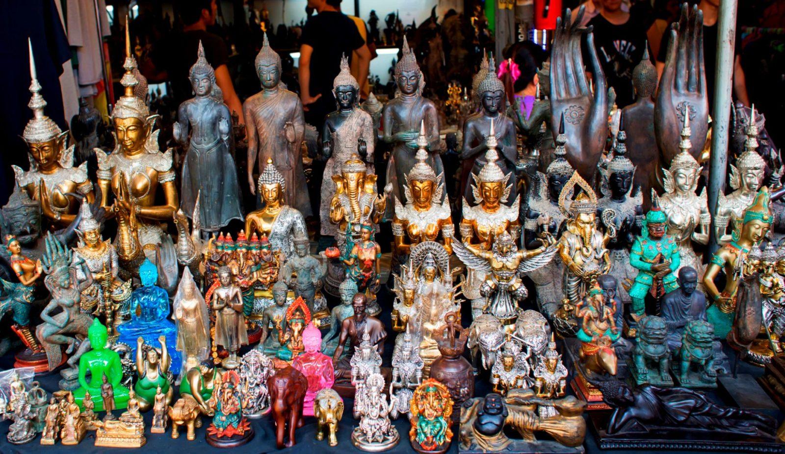 Популярные сувениры из Тайланда